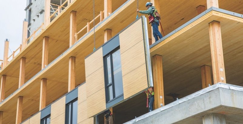 Masonry Building Framed : A primer clt glulam what is mass timber treesource