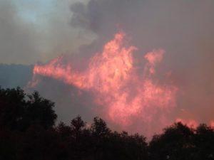 The Thomas fire in and around Ventura, California