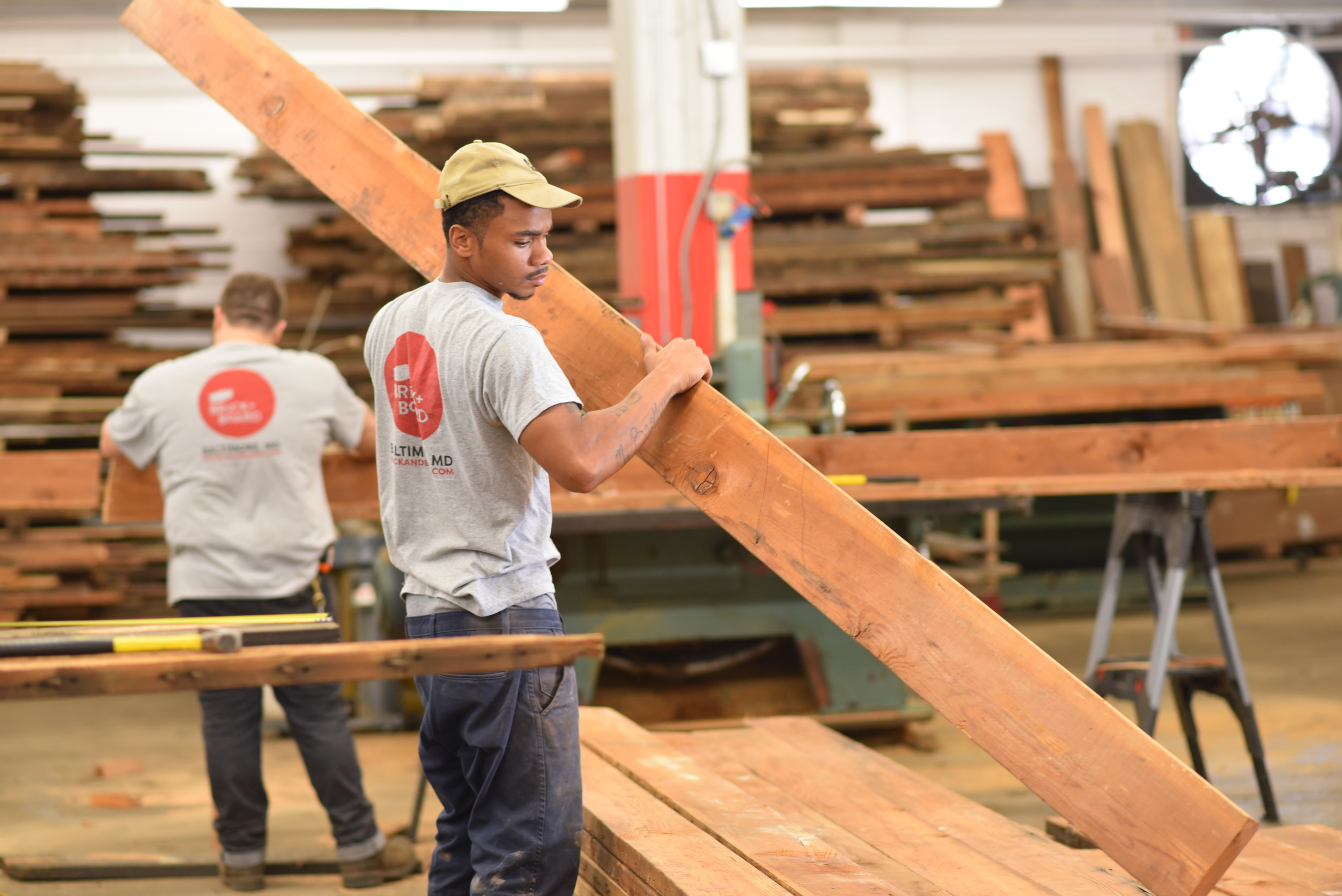Foresters, furniture makers, city leaders create 3rd life for Baltimore's urban wood